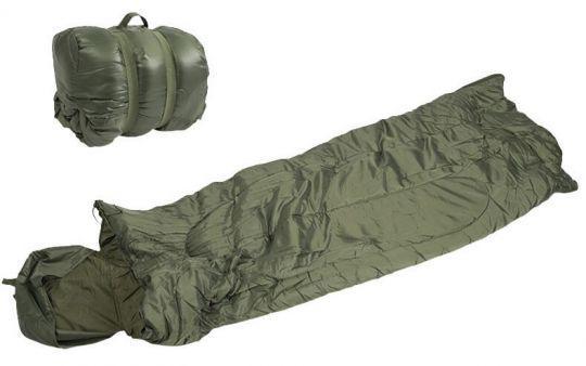 Спальный мешок Mil-Tec Pilot Olive (185х75 см)  (14101001)