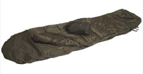 Спальный мешок с чехлом Mil-Tec Commando Olive (до-10)  (14102001)