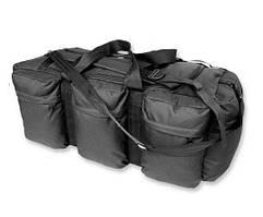 Сумка-рюкзак Mil-Tec транспортна TAP 98 Black (13846002), Німеччина