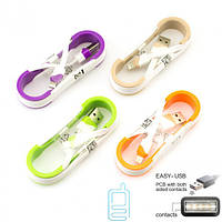 USB кабель Apple Lightning реверсивный коннектор USB белый