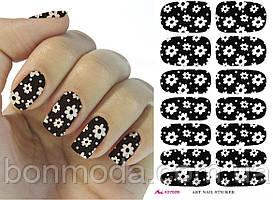 Наклейки для дизайна ногтей № 11