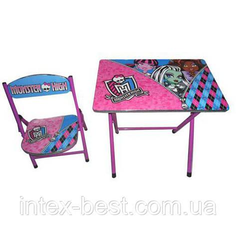 Детский складной столик со стульчиком DT 19 MH, фото 2