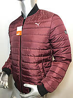 Мужская куртка бомбер Puma копия