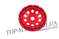 Алмазный диск для шлифовки бетона Intertool - 125 мм, сегмент