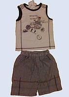 Комплект для мальчика: майка и шортики