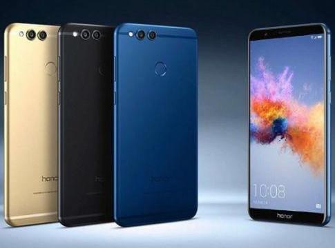 """Смартфон Huawei Honor 7x 4/32Gb, 16+2/8Мп, 5.93"""" IPS, 2 sim, 4G, 3340мАh, HiSilicon Kirin 659, 8 ядер"""