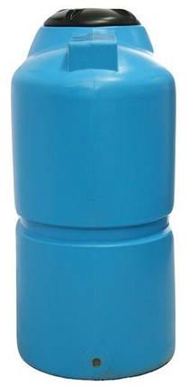 Бесплатная доставка. Бак, бочка 1000 литров отстойник, емкость пищевая транспортабельная вертикальная B, фото 2