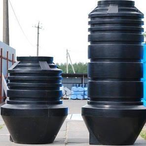 Дарим 180 грн на доставку. Колодец дренажный насосный 1100 литров, яма, отстойник, септик 1000, фото 2
