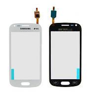 Оригинальный сенсорный экран Samsung Galaxy S Duos белый (тачскрин, стекло в сборе)