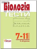 7-11 клас   Біологія. Тести. 4500 тестових завдань   Заяц Р.Г.