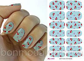 Наклейки для дизайна ногтей № 01