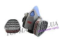 Респиратор Vita - 3 м с двумя фильтрами (фильтр трапеция)