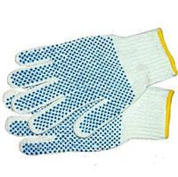 Перчатки с ПВХ точкой 12штук в упаковке