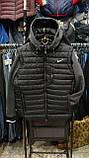 Мужская куртка Reebok большая с отстегивающимися трикотажными рукавами копия , фото 4