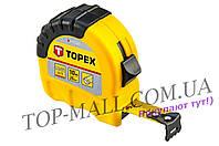 Рулетка Topex - 10 м х 25 мм, Shiftlock