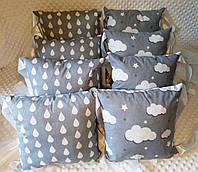 Бортики в кроватку-защита для новорожденных