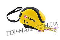 Рулетка Topex 7,5 м х 25 мм, автостоп