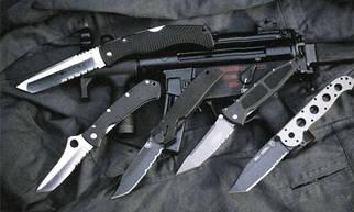 Ножи тактические, туристические, рабочие