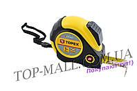 Рулетка Topex - 5 м х 25 мм, магнит, автостоп