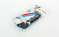 Сетка для волейбола узловая с тросом (р-р 9,5x1м, ячейка 12x12см) EB4889