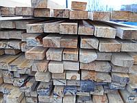 Рейка деревянная брус 100*200/6м.п.