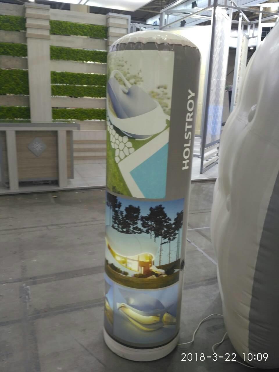 Круговой рекламный фонарь Вarrel - S