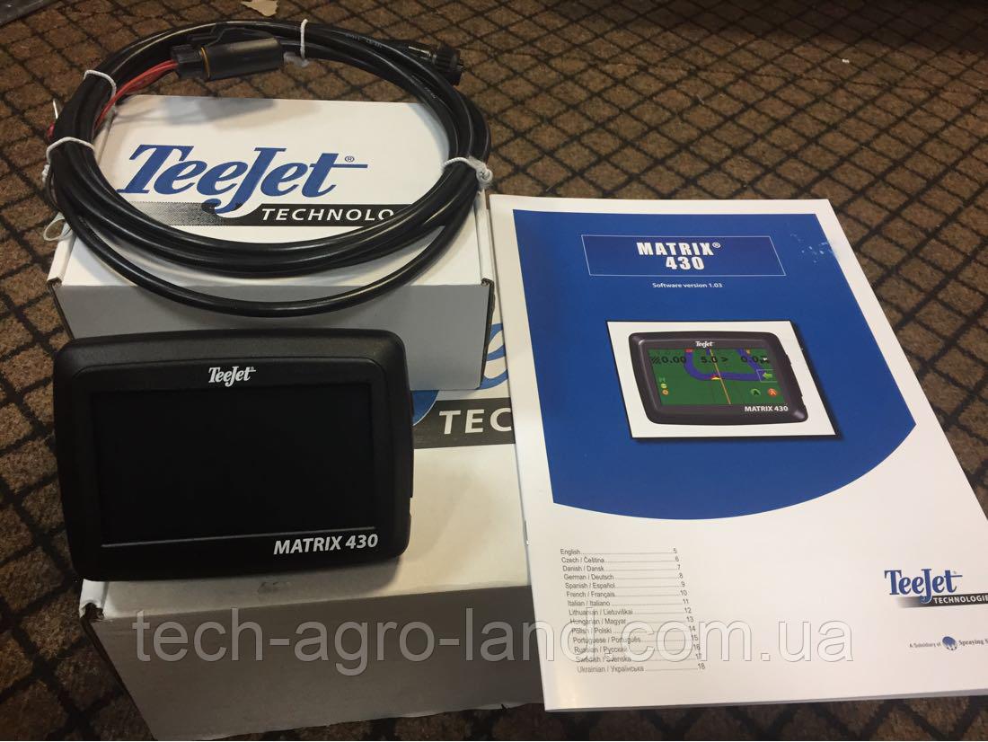 Навигатор на опрыскиватель gps Teejet Matrix 430
