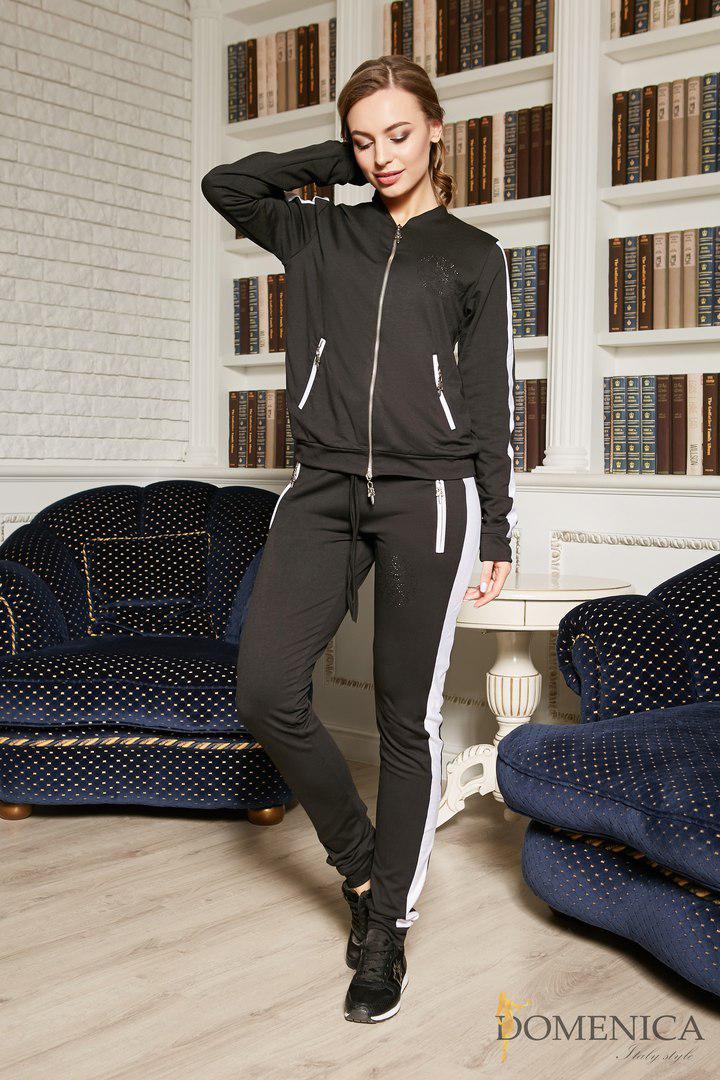 Костюм в стиле Philipp Plein - универсальная базовая вещь для любой модницы.