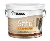 Пропитка для сауны Текнос Саунасуойя, 9 л