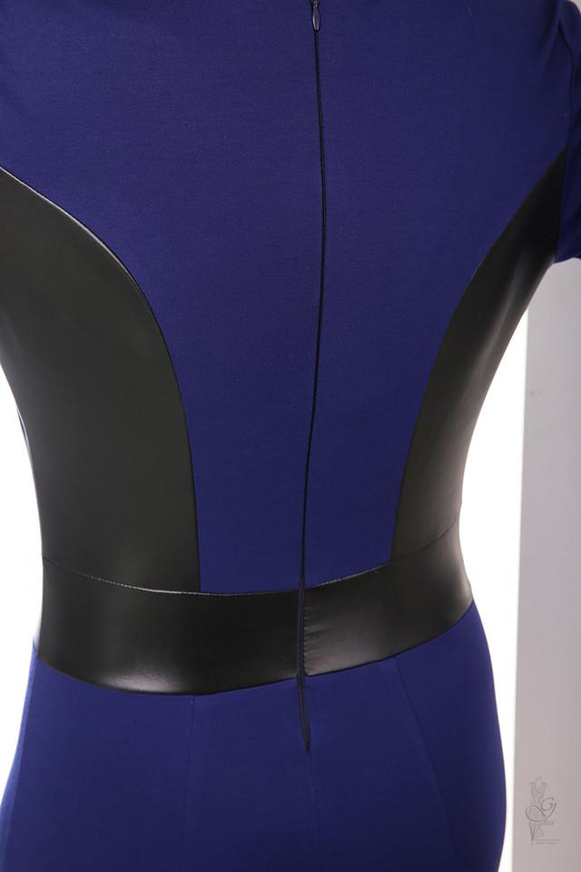 Фото-1 Женского платья из эко-кожи Клод-1