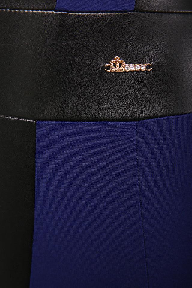 Фото Женского платья из эко-кожи Клод-1