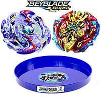 Набор Бейблейд + арена Beyblade Burst Взрыв Xeno Xcalius и WYVRON