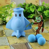 Игрушка Растения против зомби Голубой самолёт Plants vs zombies