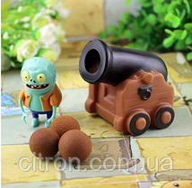 Игрушка Растения против зомби Пушка Plants vs zombies