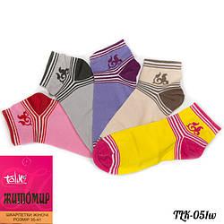 Носки женские короткие Талько (Украина) TLK-051W