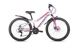 Горный дамский велосипед Intenzo Terra disk 26 (2018) new