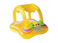 Детский надувной плотик с навесом Intex Baby Float 56581
