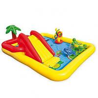 Надувной детский игровой центр - бассейн Intex, 57454