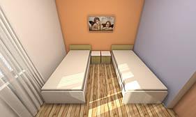 Набор мебели для гостиницы для 2-х человек №1, мебель для гостиниц