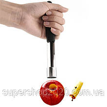 Прилад для видалення кісточок серцевини яблука фруктів
