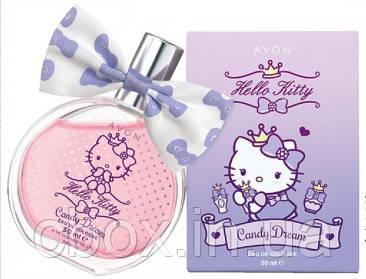 "Детская туалетная вода ""Сладкая фантазия"" Hello Kitty, Avon, Хэллоу Китти, Эйвон, 50 мл, 22935"