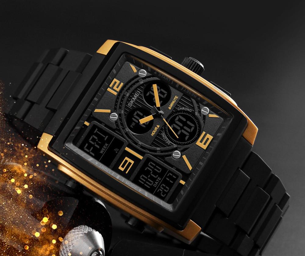 Наручний годинник Durable Skmei 1274 золотий