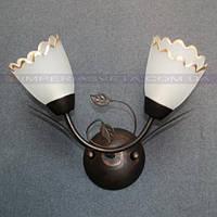 Декоративное бра, светильник настенный TINKO двухламповое LUX-466311