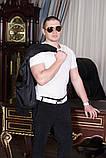 Стильный мужскойтемный вильветовый костюм в деловом стиле (р.42,50), фото 4