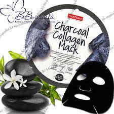 Тканевая маска - Purederm Charcoal Collagen Mask