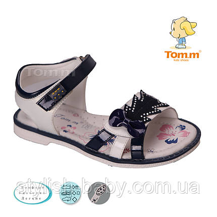 Детские босоножки 2018. Детская летняя обувь бренда Tom.m для девочек (рр. с 25 по 30), фото 2