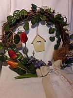 Веночек декоративный пасхальный