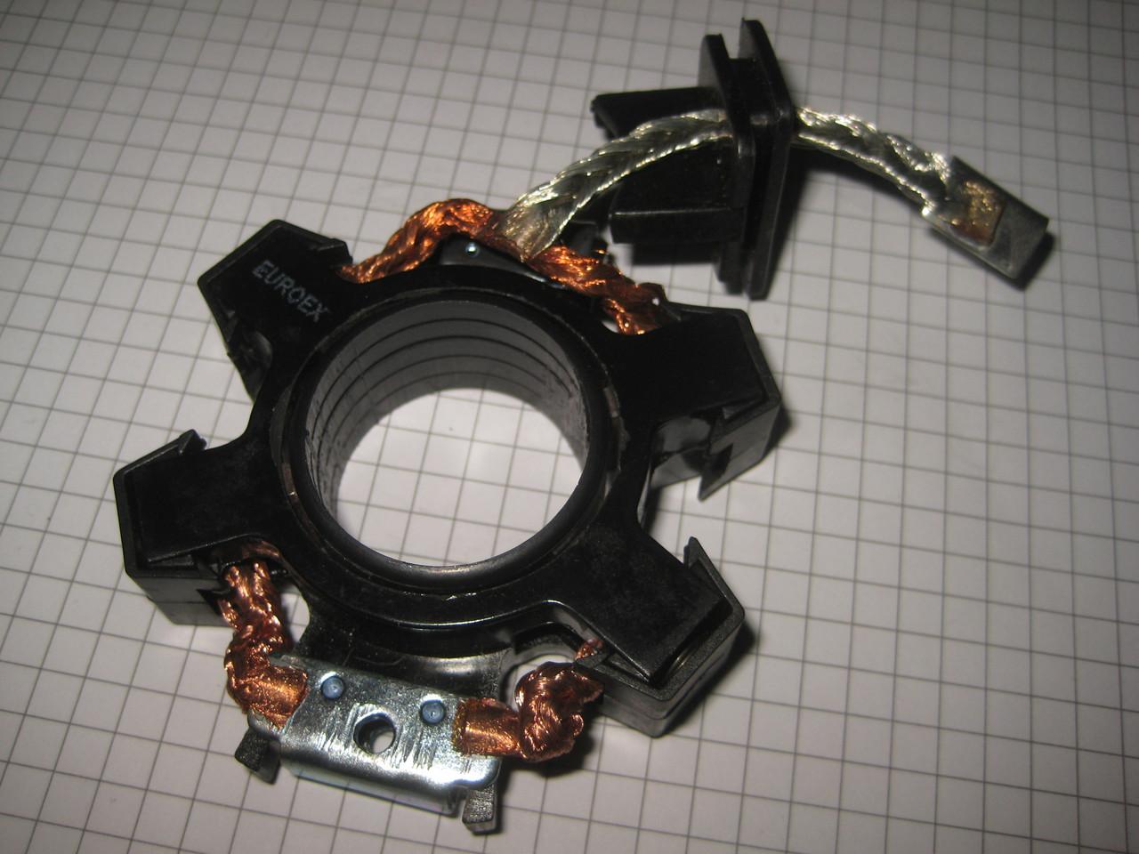 Щетки щеточный узел щеткодержатель стартера EX-75107 Деу Део Ланос Нексия Daewoo Lanos Nexia EvroEx