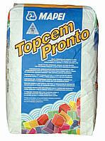 Готовий розчин для швидковисихаючих стяжок (4 дні) Topcem Pronto. 25 кг. Mapei/
