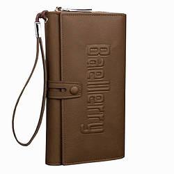 Мужское портмоне Baellerry S1393 темно-коричневый